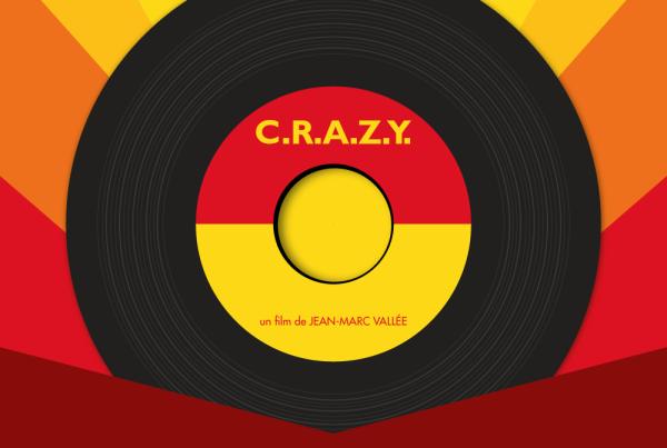 Affiche minimal film crazy