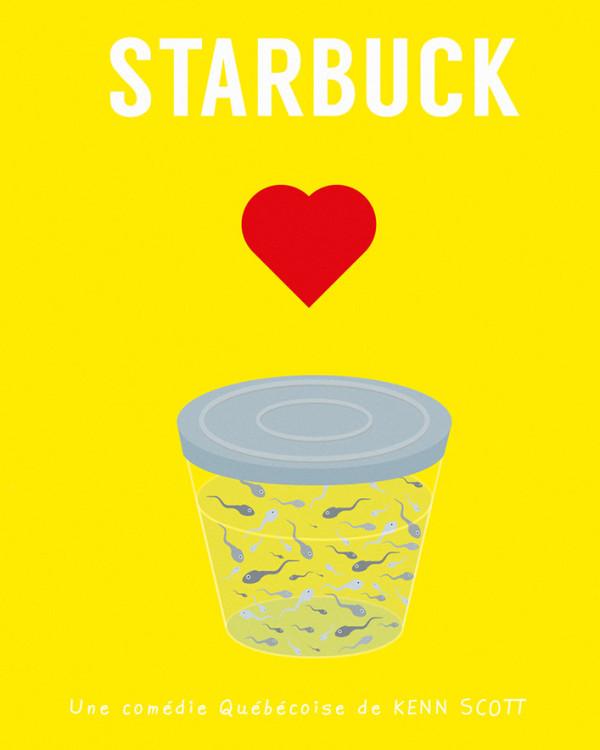 Poster Affiche minimaliste starbuck
