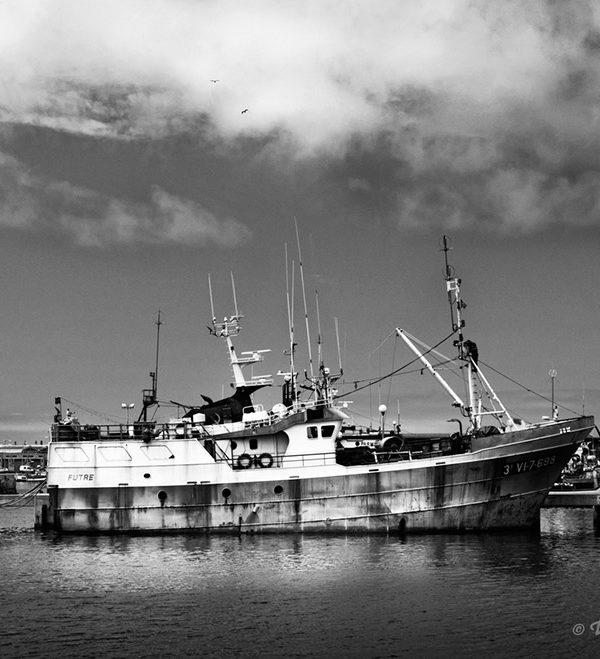 bateau photo N&B