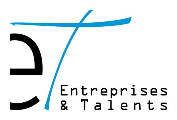 logo entreprises & talents solutions RH