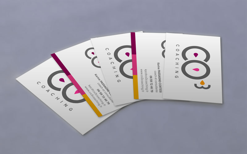 Cartes de visite coaching
